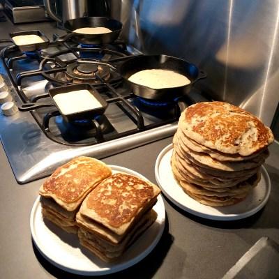 Heerlijke fluffy pancakes, weekend :-)