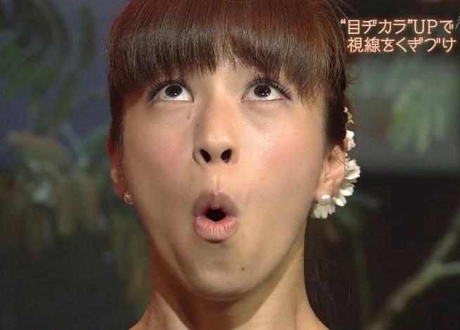 安田美沙子のフェラ顔