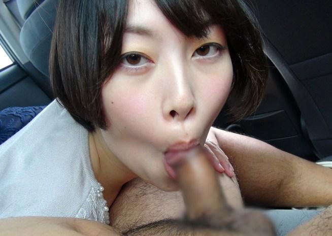 上品奥様の汚舌フェラ (3)