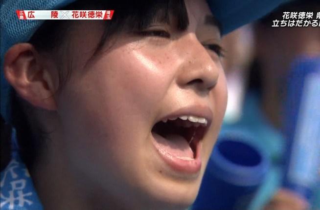 女子高生の唾糸舌見せ (3)