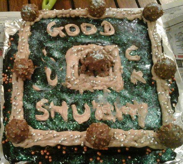 Nutella Ferraro Cake