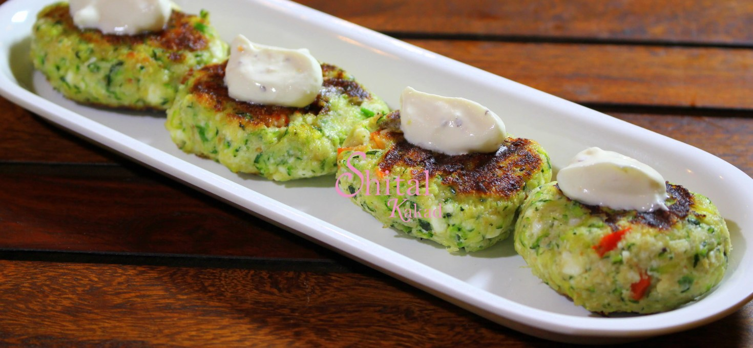 Zucchini Patties!!! Some Fusion