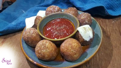 Potato Cheese Balls !! A Cheesy Bite