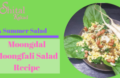 Moongdal Moongfali Salad Recipe