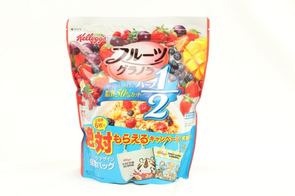 ケロッグ フルーツグラノラ ハーフ 徳用袋 500g