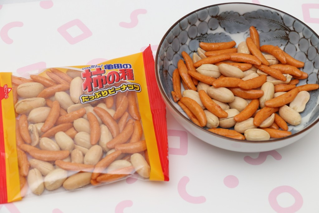 亀田の柿の種たっぷりピーナッツ