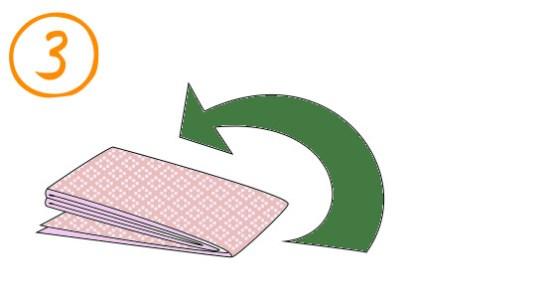 袋帯たたみ方3