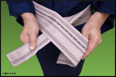帯の結び部分の解説4