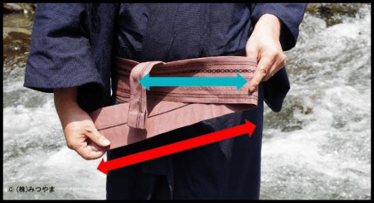 帯の中途半端な長さを処理1