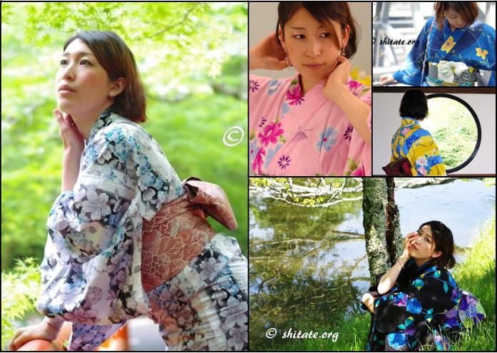 浴衣の選び方・色の印象やイメージTOP