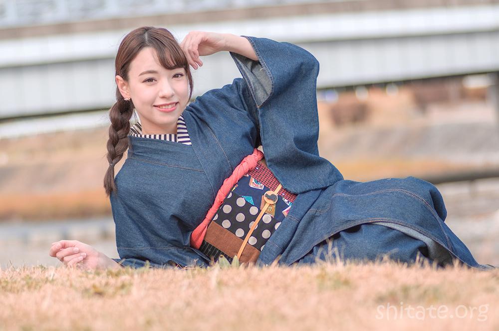 今宮戎神社の福娘・エリス梨亜奈さん1