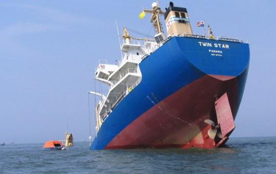 stern-sinking