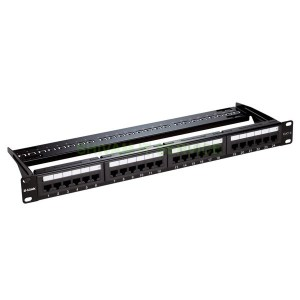 Dlink Cat6 UTP 24 Port Loaded Patch Panel