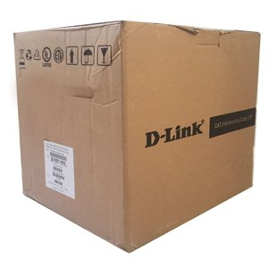Dlink 305mtr Cat6 Lan UTP Cable, Gray