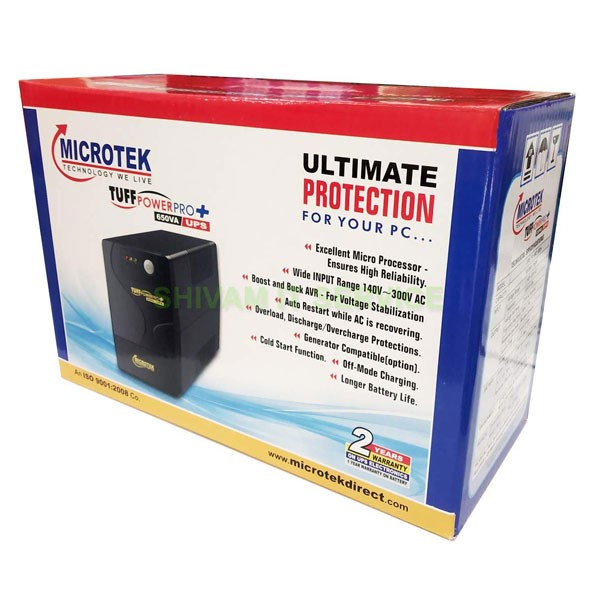 microtek tuff power pro plus ups 3