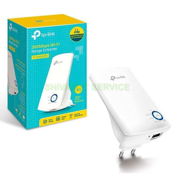 TP-Link Wi-Fi Range Extender TL-WA850RE 300Mbps