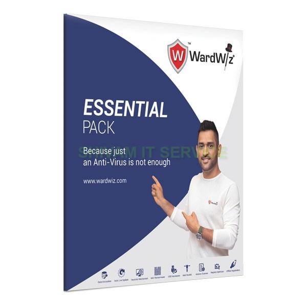 wardwiz essential pack antivirus 1
