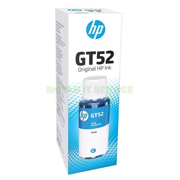 hp gt52 cyan original ink bottle 1