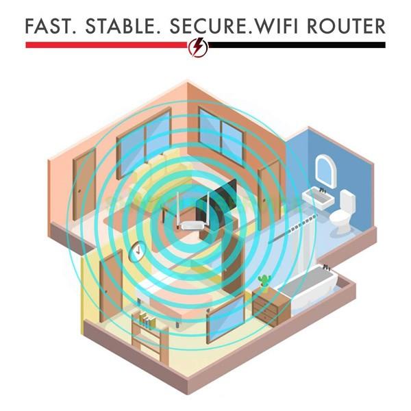 Tenda N301 Wireless-N300 Easy Setup Router