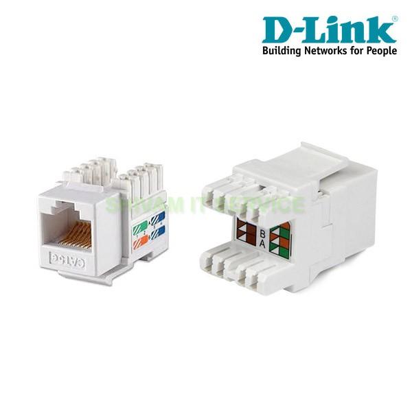 DLink CAT6 UTP RJ45 IO / Keystone Jack