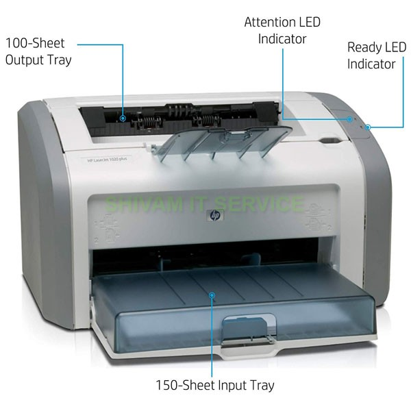 HP Laserjet 1020 Plus Single Function Monochrome Laser Printer