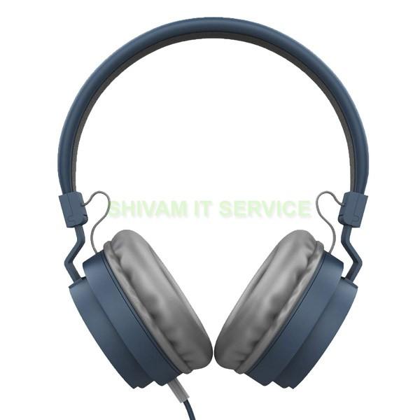 corseca 3213 hd stereo headphone blue 2