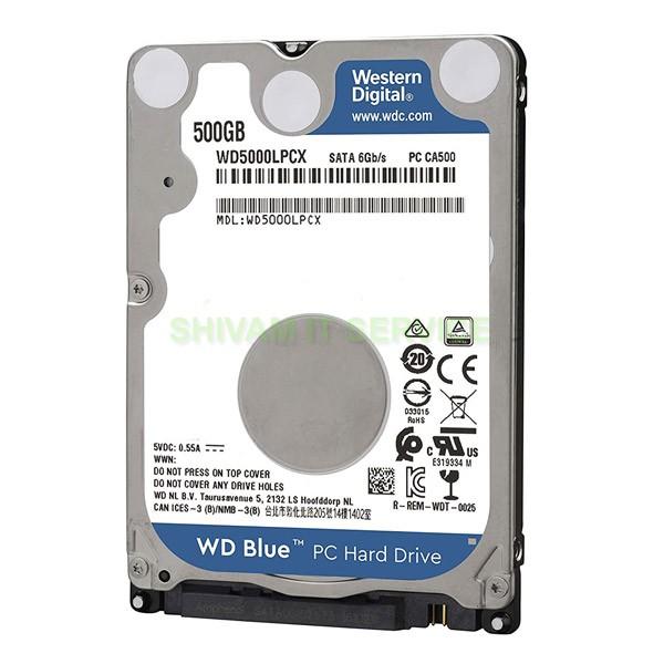 WD Blue 500GB Laptop HDD