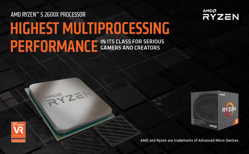 amd ryzen 5 2600x processor 4