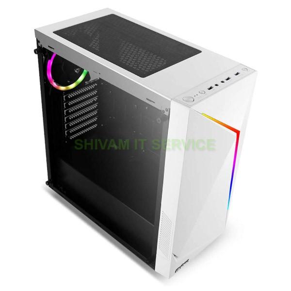antec nx300 argb gaming cabinet white 2