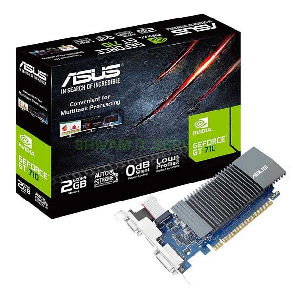 Asus GT 710 DDR5 2GB PCI Express Graphic Card GT710-SL-2GD5