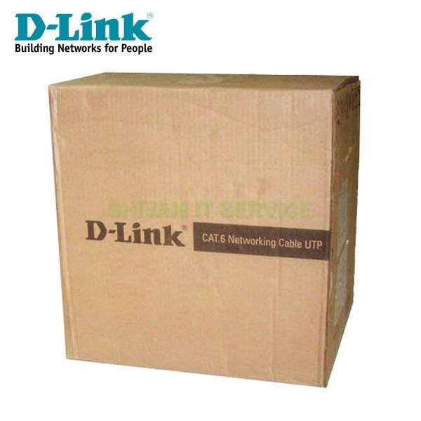 D-Link 100mtr Cat 6 Networking Cable