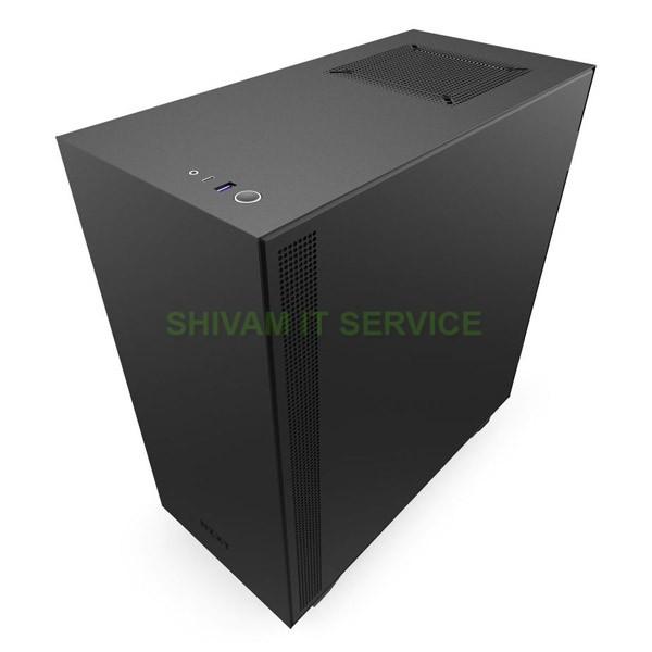 nzxt h510i gaming case matte black 2