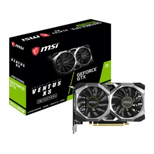 MSI GeForce GTX 1660 Ventus XS 6G OC GDDR5 Gaming Graphic Card