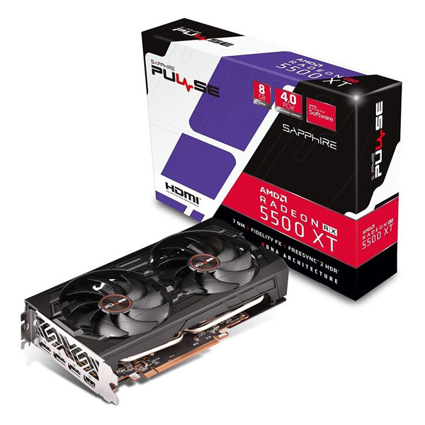 Sapphire Pulse Radeon RX5500XT 4GB DDR6