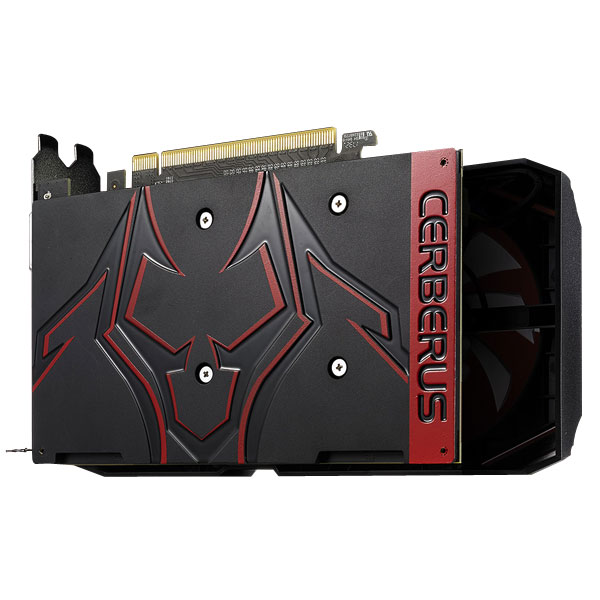 Asus GeForce Cerberus GTX 1050 Ti OC Edition 4GB Gaming Graphics Card CERBERUS-GTX1050TI-O4G