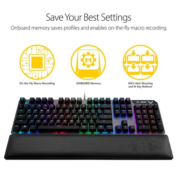 asus tuf gaming k7 rgb keyboard 2