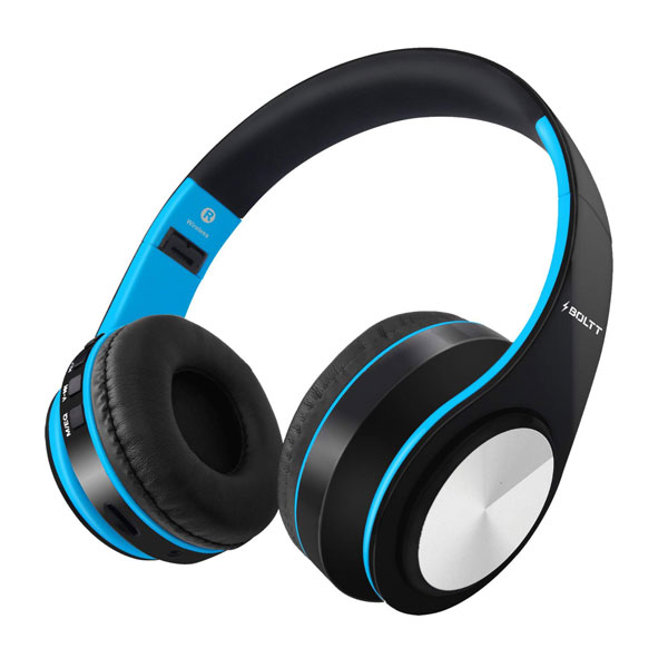 Fire-Boltt Blast 1000 Blue Headphone