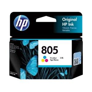 HP 805 Tri-color Original Ink Cartridge
