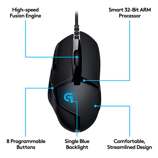 logitech g402 hyperion fury gaming mouse 4