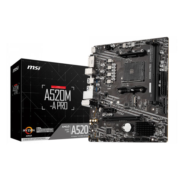 msi a520m a pro motherboard 1