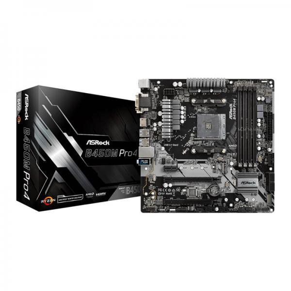 ASRock B450M Pro4 Motherboard