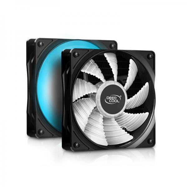 deepcool gammaxx l120t blue liquid cooling 3