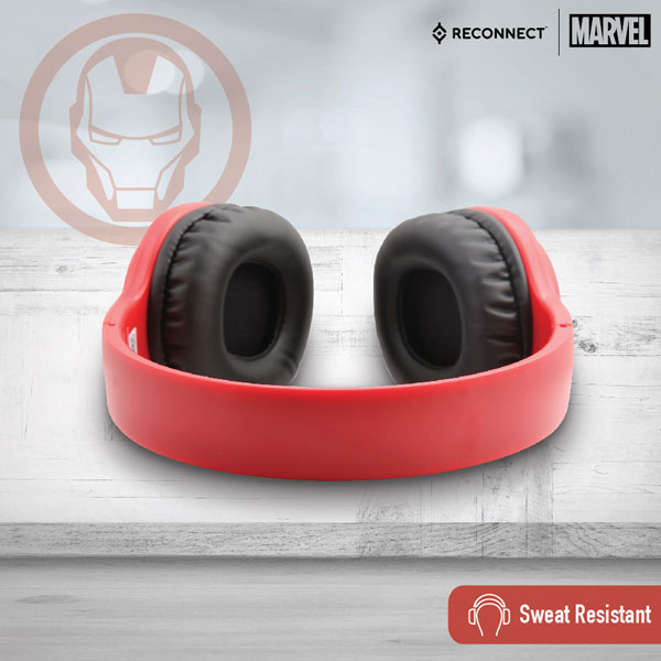 reconnect 101 marvel iron man wired headphone 4