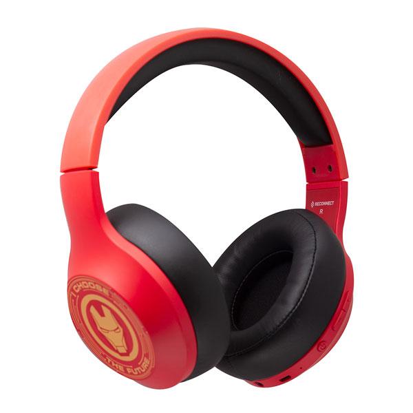reconnect marvel iron man wireless headphone 3