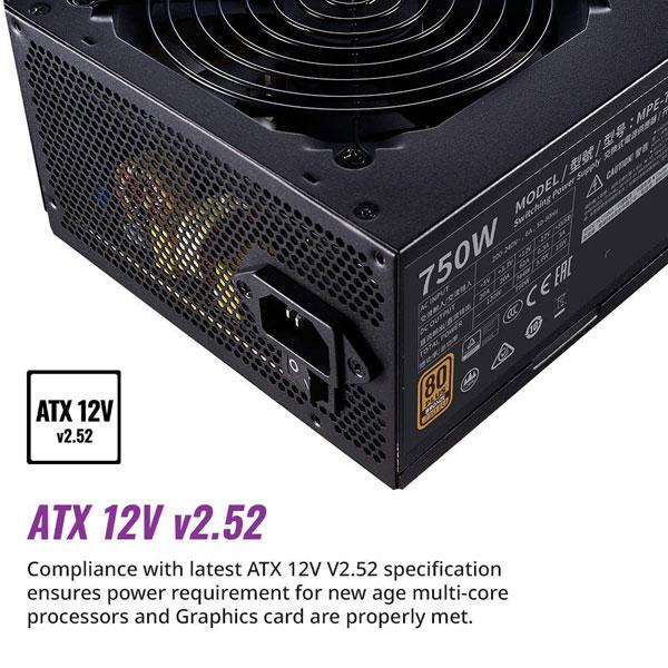 cooler master mwe 750w bronze v2 smps 2
