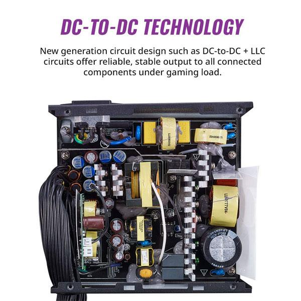 Cooler Master MWE 750 Bronze V2 750W, 80 Plus Bronze Certified, Non-Modular Power Supply