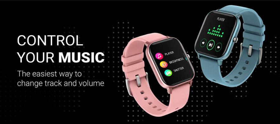 fire boltt full touch smart watch black 16