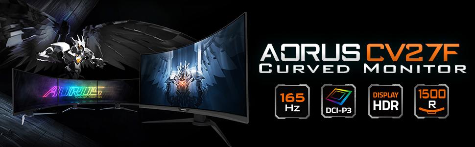 gigabyte aorus cv27f 27 inch curved rgb gaming monitor 6