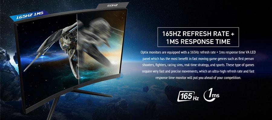msi optix g27c4 27 inch curved gaming monitor 6