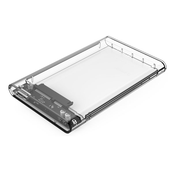 Transparent Hard Drive Enclosure